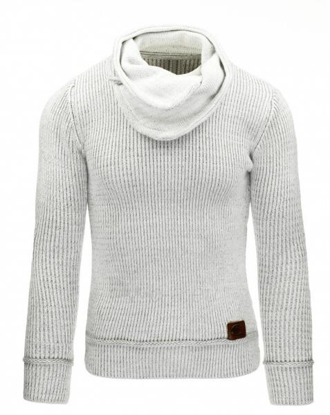 Vyriškas megztinis Gareth (Baltas) Paveikslėlis 1 iš 7 310820031315
