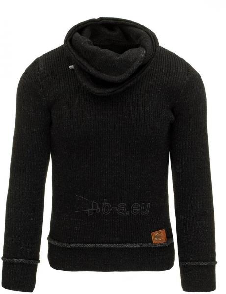 Vyriškas megztinis Gareth (Juodas) Paveikslėlis 1 iš 7 310820031317