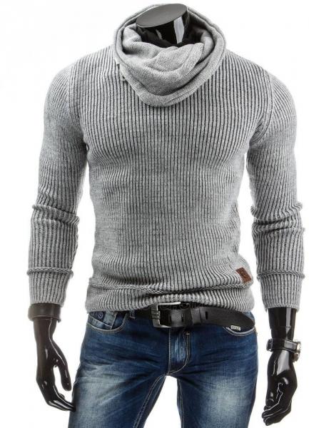 Vyriškas megztinis Gareth (Pilkas) Paveikslėlis 1 iš 7 310820031316