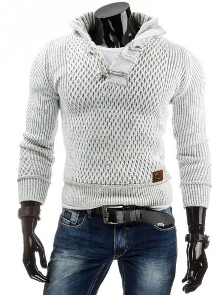 Vyriškas megztinis Garey (Baltas) Paveikslėlis 1 iš 6 310820043577