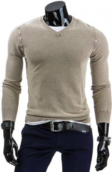 Vyriškas megztinis Gavin (Rudas) Paveikslėlis 1 iš 6 310820031367