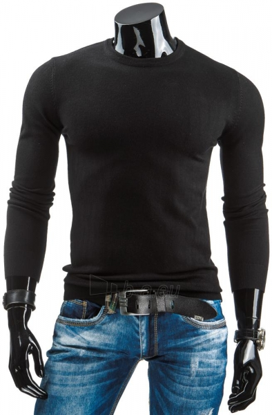 Vyriškas megztinis Gene (Juodas) Paveikslėlis 1 iš 6 310820031372