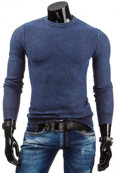 Vyriškas megztinis German (Tamsiai mėlynas) Paveikslėlis 1 iš 6 310820043609