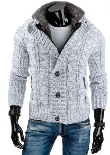 Vyriškas megztinis Otter (Baltas) Paveikslėlis 1 iš 6 310820043646