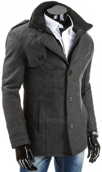 Vyriškas paltas Adam (Pilkas) Paveikslėlis 1 iš 6 310820046646