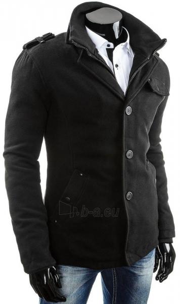 Vyriškas paltas Addison (Juodas) Paveikslėlis 1 iš 6 310820034994
