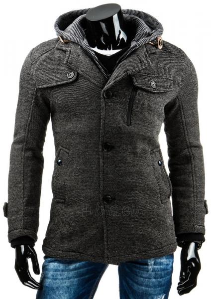 Vyriškas paltas Bix (Pilkas) Paveikslėlis 1 iš 6 310820034996