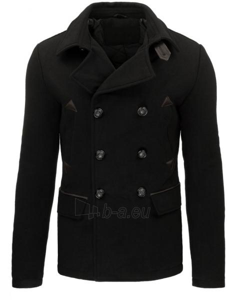 Vyriškas paltas Cree (juodas) Paveikslėlis 1 iš 7 310820046025