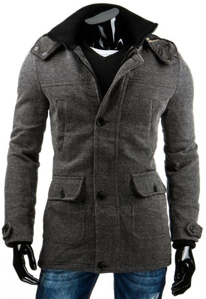Vyriškas paltas Don (Pilkas) Paveikslėlis 1 iš 6 310820036158