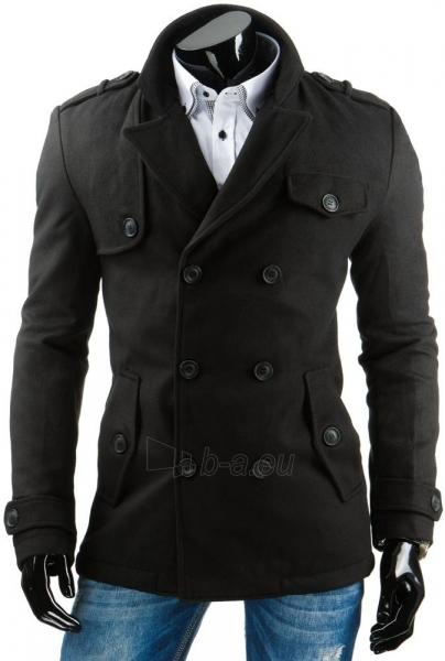 Vyriškas paltas Edred (Juodas) Paveikslėlis 1 iš 6 310820036140