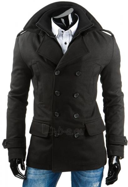 Vyriškas paltas Eliot (Juodas) Paveikslėlis 1 iš 6 310820043615