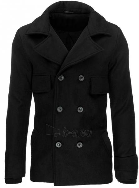 Vyriškas paltas Hagen (juodas) Paveikslėlis 1 iš 7 310820045445
