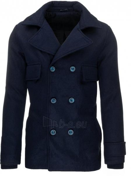 Vyriškas paltas Jannat (tamsiai mėlynas) Paveikslėlis 1 iš 7 310820046791