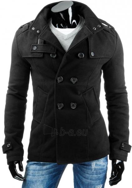 Vyriškas paltas Prince (Juodas) Paveikslėlis 1 iš 6 310820034999