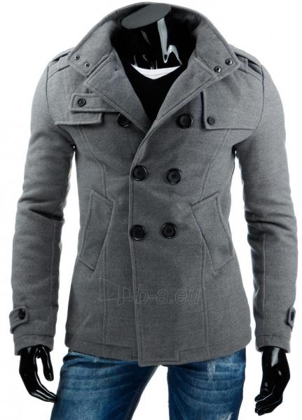 Vyriškas paltas Prince (Pilkas) Paveikslėlis 1 iš 8 310820036161