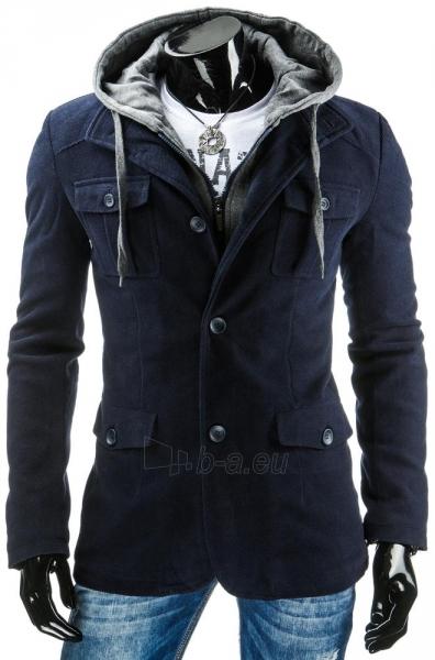 Vyriškas paltas Wolsey (Tamsiai mėlynas) Paveikslėlis 1 iš 6 310820036244