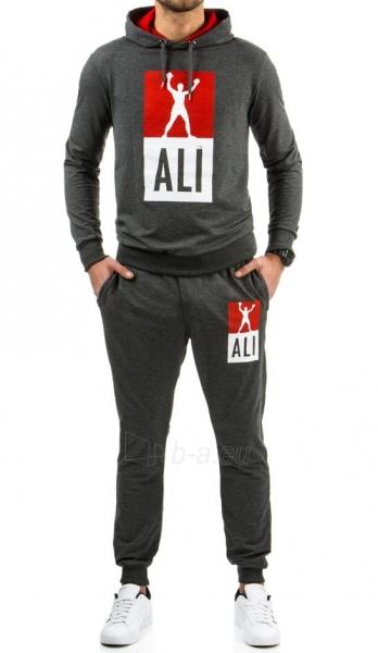 Vyriškas sportinis kostiumas Ali (Antracitas) Paveikslėlis 1 iš 6 310820037038