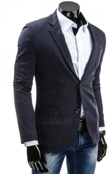 Vyriškas švarkas Baldwin (Tamsiai mėlynas) Paveikslėlis 1 iš 6 310820033361