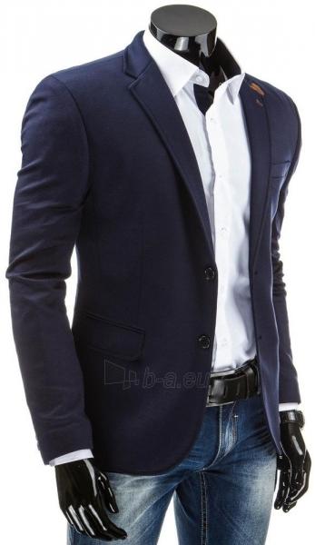 Vyriškas švarkas Basil (Tamsiai mėlynas) Paveikslėlis 1 iš 5 310820043585