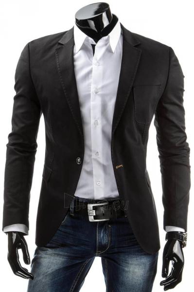 Vyriškas švarkas Ben (Juodas) Paveikslėlis 1 iš 6 310820033356