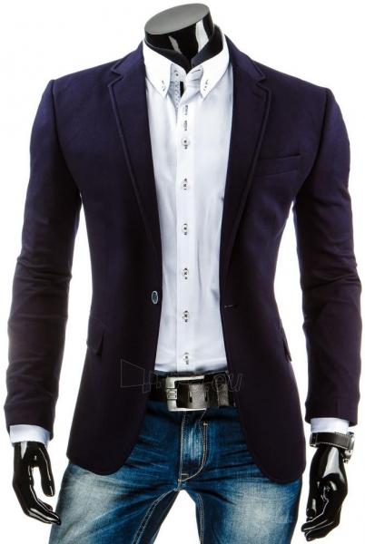 Vyriškas švarkas Brant (Tamsiai mėlynas) Paveikslėlis 1 iš 5 310820033369