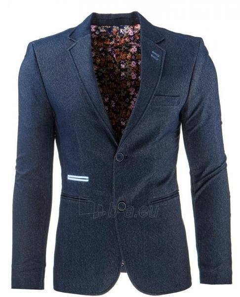 Vyriškas švarkas Campbell (Tamsiai mėlynas) Paveikslėlis 1 iš 2 310820033437