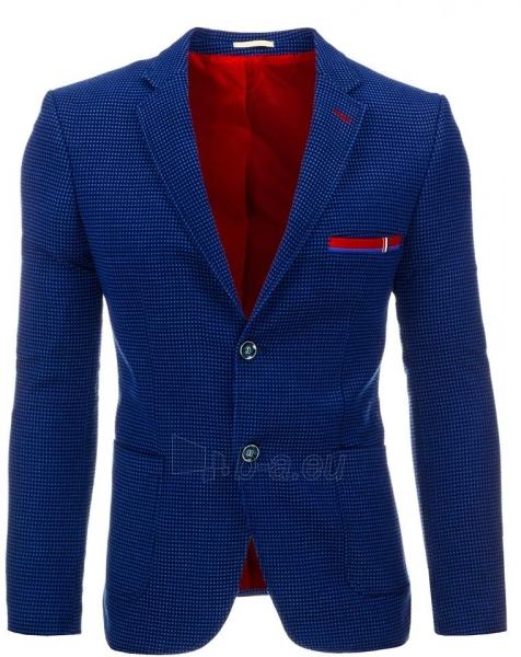 Vyriškas švarkas Chincot (Tamsiai mėlynas) Paveikslėlis 1 iš 2 310820033448