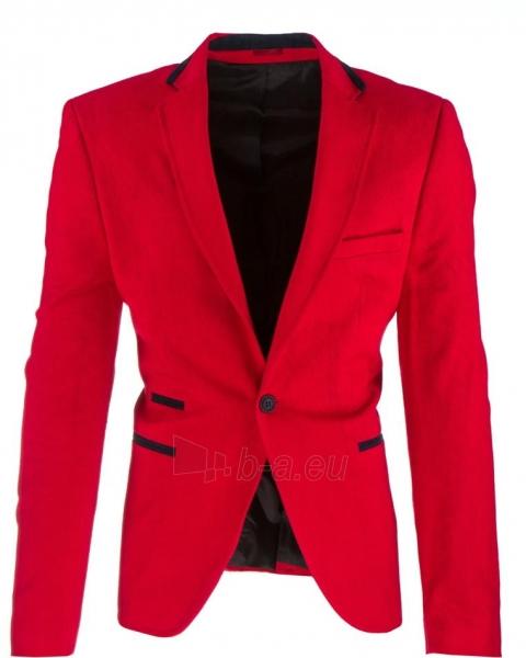 Vyriškas švarkas Clovis (Raudonas) Paveikslėlis 1 iš 2 310820033408