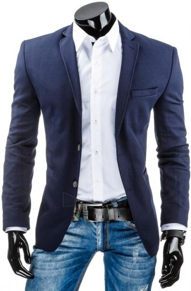 Vyriškas švarkas Damascus (Tamsiai mėlynas) Paveikslėlis 1 iš 6 310820033398