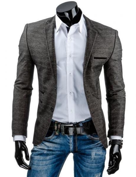 Vyriškas švarkas Gladstone (Juodas) Paveikslėlis 1 iš 6 310820043643