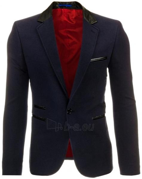 Vyriškas švarkas Kamil (tamsiai mėlynos spalvos) Paveikslėlis 1 iš 2 310820045441