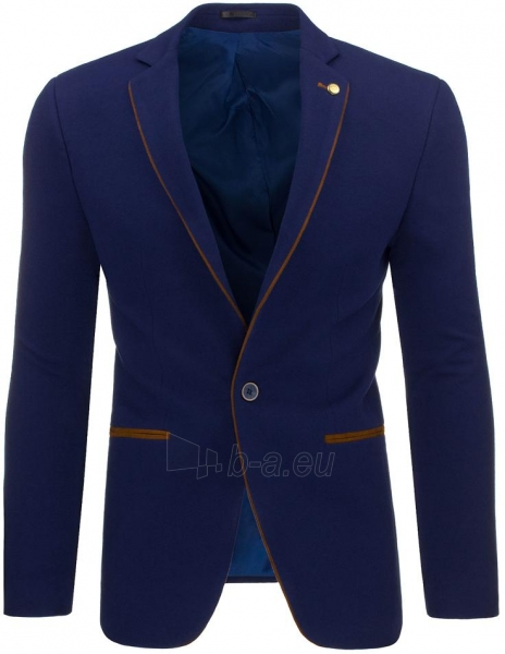 Vyriškas švarkas Logann (tamsiai mėlynos) Paveikslėlis 1 iš 3 310820047037