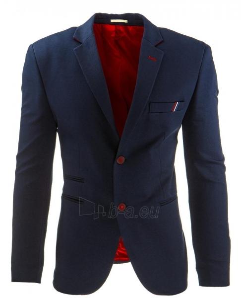 Vyriškas švarkas męska Benzonia (Tamsiai mėlynas) Paveikslėlis 1 iš 2 310820033430