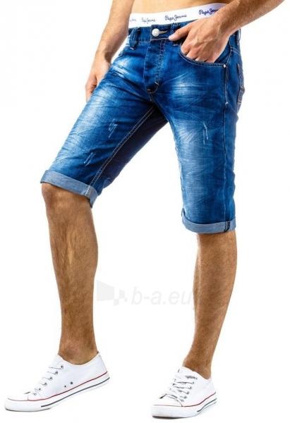 Vyriški džinsiniai šortai Troy Paveikslėlis 1 iš 6 310820034914