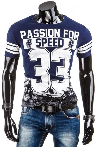 Vyriški marškinėliai 33 (Tamsiai mėlyni) Paveikslėlis 1 iš 4 310820031257