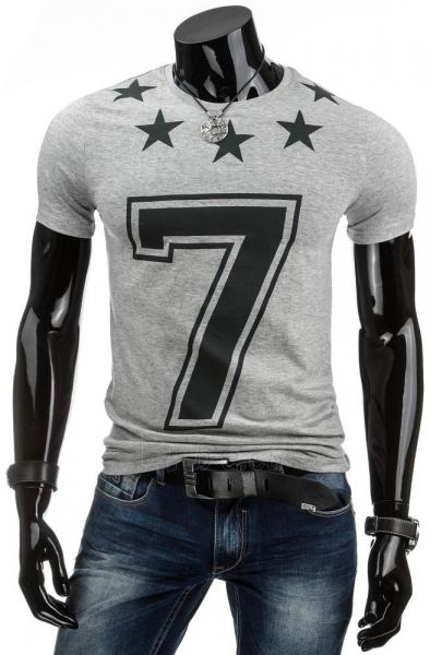Vyriški marškinėliai 7 (Pilki) Paveikslėlis 1 iš 4 310820031165