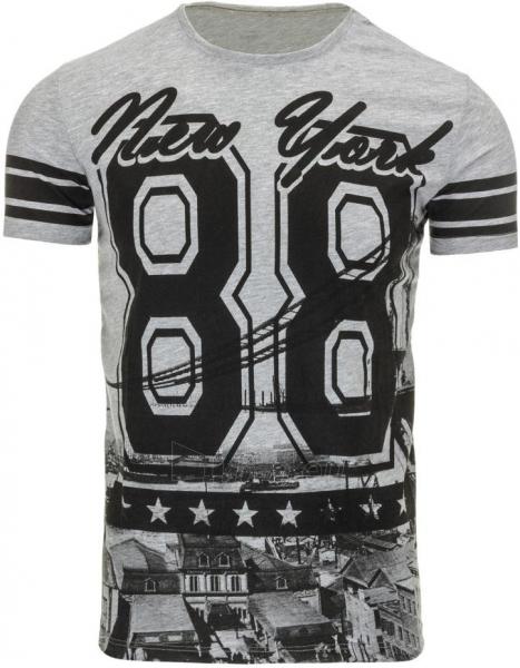 Vyriški marškinėliai 88 (Pilki) Paveikslėlis 1 iš 5 310820031259