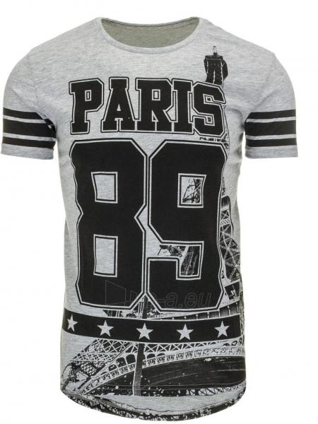Vyriški marškinėliai 89 (Pilki) Paveikslėlis 1 iš 5 310820031264