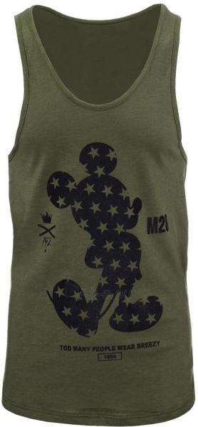 Vyriški marškinėliai Alena (chaki spalvos) Paveikslėlis 1 iš 2 310820033729