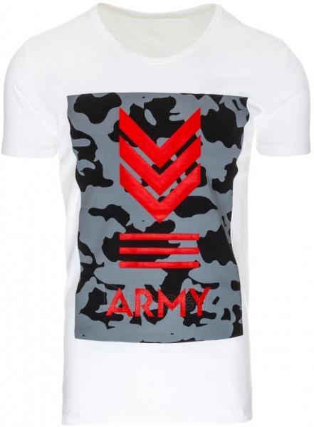 Vyriški marškinėliai Alexa (baltos spalvos) Paveikslėlis 1 iš 1 310820033725