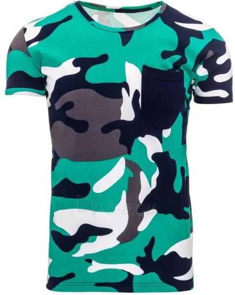 Vyriški marškinėliai Alexa (žalios spalvos) Paveikslėlis 1 iš 1 310820033727