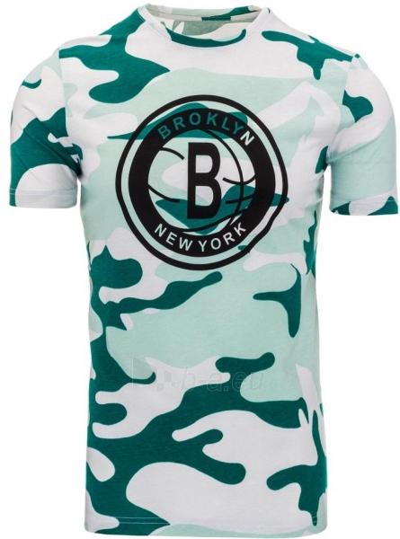 Vyriški marškinėliai Alexei (žalios spalvos) Paveikslėlis 1 iš 1 310820033723