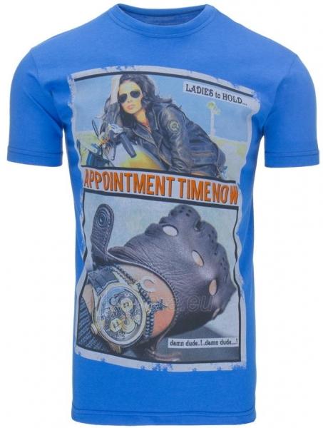 Vyriški marškinėliai Appointment (Mėlyni) Paveikslėlis 1 iš 5 310820031109