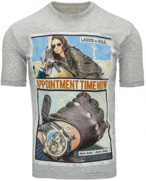 Vyriški marškinėliai Appointment (Pilki) Paveikslėlis 1 iš 5 310820031104