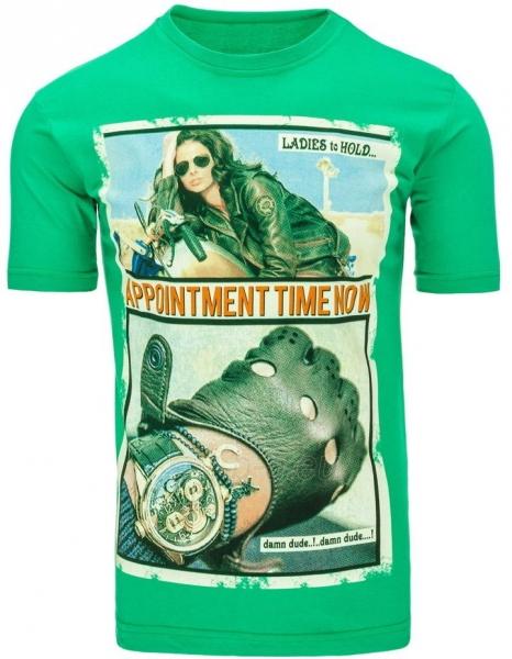 Vyriški marškinėliai Appointment (Žali) Paveikslėlis 1 iš 5 310820031107