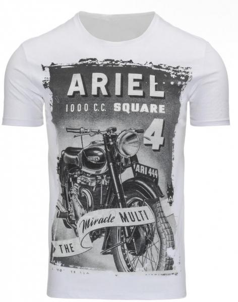 Vyriški marškinėliai Ariel (Balti) Paveikslėlis 1 iš 5 310820031356