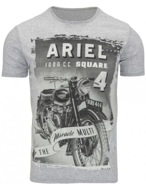 Vyriški marškinėliai Ariel (Pilki) Paveikslėlis 1 iš 5 310820031358