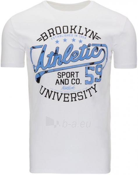 Vyriški marškinėliai ATHLETIC (Balti) Paveikslėlis 1 iš 5 310820031198