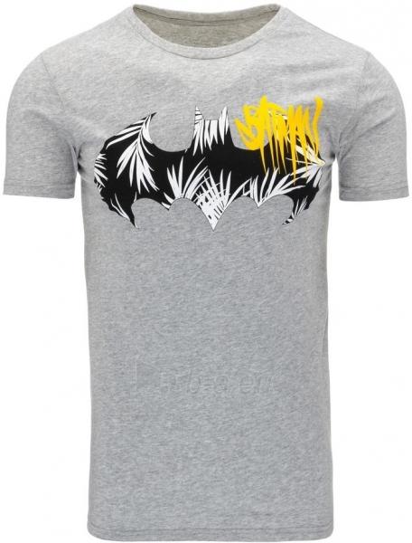 Vyriški marškinėliai Batman v3 (Pilki) Paveikslėlis 1 iš 5 310820031269