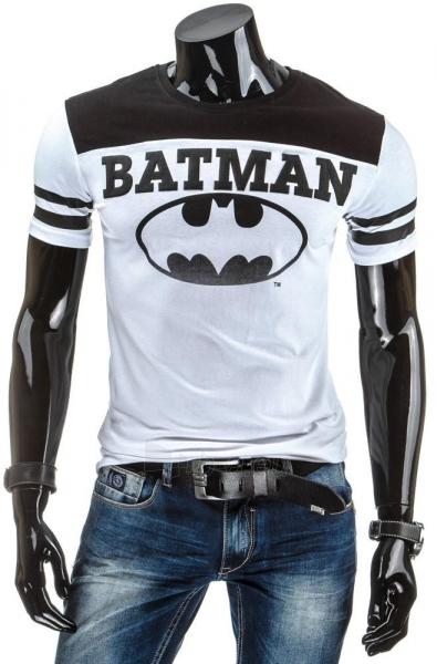 Vyriški marškinėliai BATMANv2 (Balti) Paveikslėlis 1 iš 4 310820031267